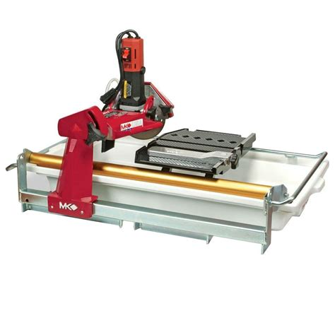 Mk 770 Tile Saw by Mk Mk 770exp 7 In Tile Saw 160267 The Home Depot