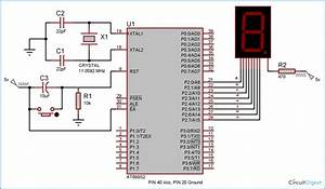 7 Segment Display Interfacing With 8051 Microcontroller