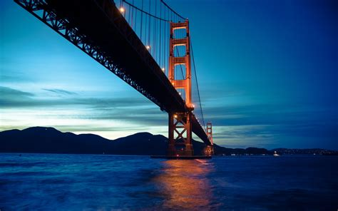 wallpaper golden gate bridge sunset san francisco