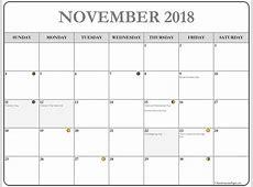 November 2018 calendar 56+ calendar templates of 2018