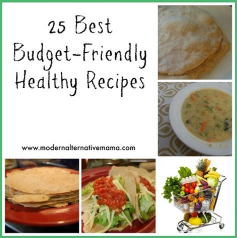 25 Best Budget Friendly Recipes