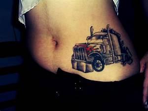 Its An International  But Good Idea For A Peterbilt Tattoo
