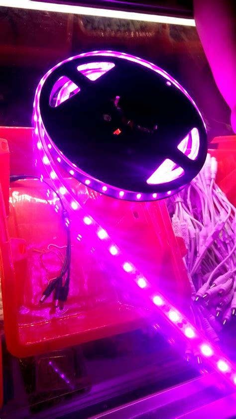 pink led strip lights 5050smd novabright pink flexible non waterproof led light