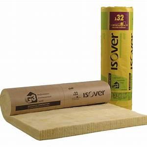 Laine De Bois 100mm : panneau roul en laine de verre gr 32 kraft isover ~ Melissatoandfro.com Idées de Décoration
