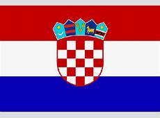 Flagge Kroatien, Fahne Kroatien, Kroatienflagge