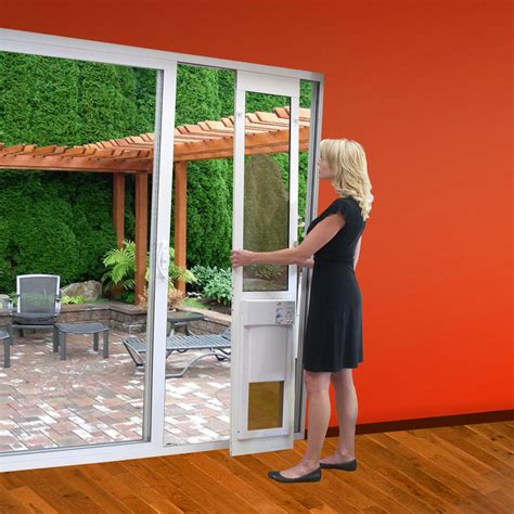 fully automatic pet doors made just for sliding glass doors