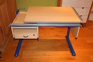 Höhenverstellbarer Schreibtisch Kinder : moll schreibtisch buche blau in planegg kinder ~ Lizthompson.info Haus und Dekorationen