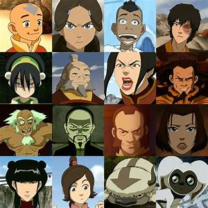 Avatar The Last Airbender Character Blitz Quiz By