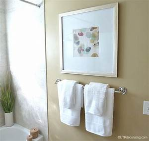 Pictures bathroom for Where to put towel bar in small bathroom