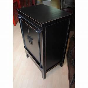 Meuble Laqué Noir : petit meuble chinois la malle d 39 asie ~ Premium-room.com Idées de Décoration