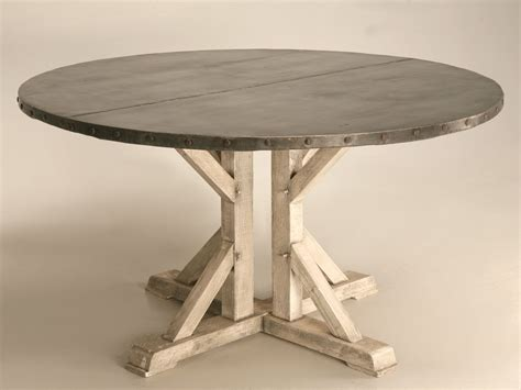 zinc kitchen table chicago zinc table tops dining table timber table table