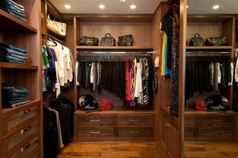 robeson design custom walk in closet traditional