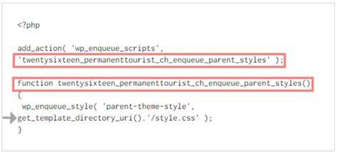 get template directory uri ein child theme erstellen wie mit entwicklertools arbeiten um css zu bearbeiten 28 04 2016