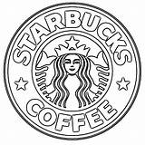 Starbucks Coffee Coloring Pages Printable Categories sketch template