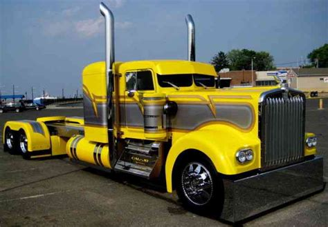 custom kenworth for sale kenworth show truck 1980 sleeper semi trucks