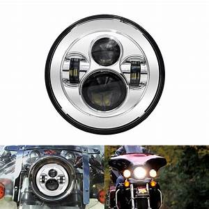 7 U0026quot  Led Daymaker Headlight Passing Light For Harley