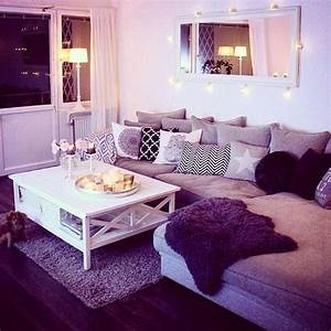 best 25 purple living rooms ideas on pinterest purple With sweet and beautiful wall decor for living room