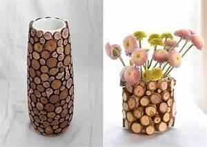 Moderne Vasen Von Designer : 100 ideen f r faszinierende deko aus holz schmuck von der natur ~ Bigdaddyawards.com Haus und Dekorationen