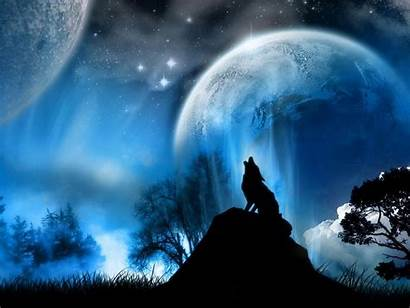 Digital Wallpapers Backgrounds Background Wolf Artwork Cool