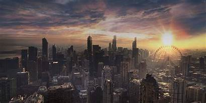 Divergent Apocalyptic Chicago Film Ruins Series Scenes