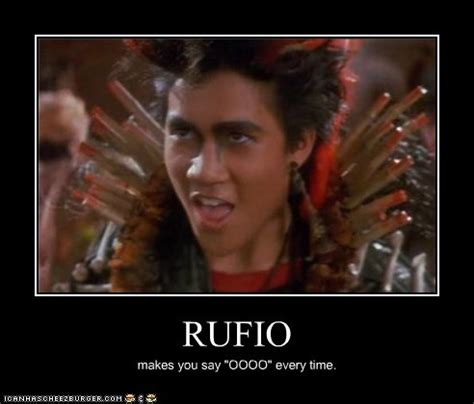 Peter Pan Rufio Quotes