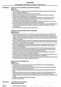 Senior Customer Service Job Description Regional Finance Director Resume Samples Velvet Jobs