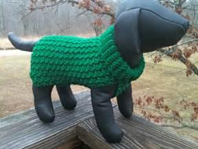 Easy Crochet Dog Sweater Pattern
