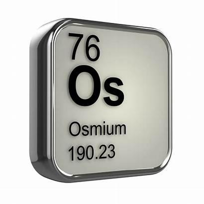 Ferrous Metals Osmium Non Element Science Chemistry