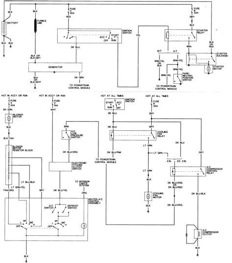 1992 Dodge Dakotum Ignition Wiring Diagram by Repair Guides Wiring Diagrams Wiring Diagrams