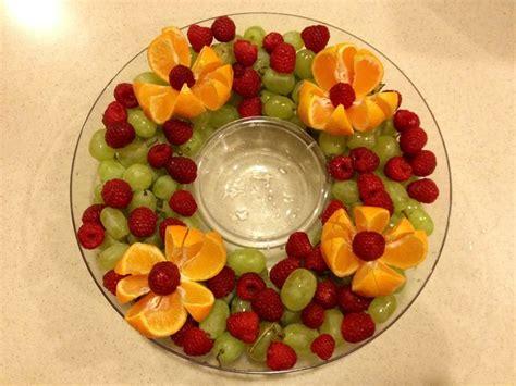 christmas fruit platter love the fresh fruit idea