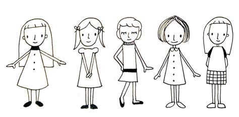 menschen zeichnen vorlagen lustige leute und menschen zeichnen erste einfache varianten creatipster