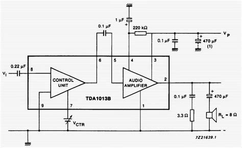 Circuit Wiring Solution Audio Power Amplifier With