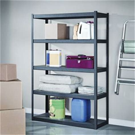 costco shelves garage whalen 5 shelf step beam shelving unit 48 quot w x 72 quot h x 18 quot d