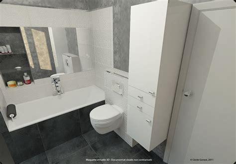 3d projet deco projets 3d de salles de bain de style 171 moderne