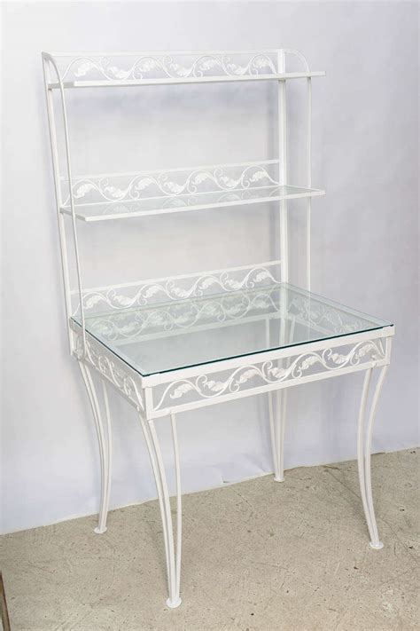 Wrought Iron Etagere by Wrought Iron Etagere Or Server By Woodard For Sale At 1stdibs