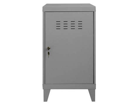 bureau connecté casier line coloris gris vente de accessoires de