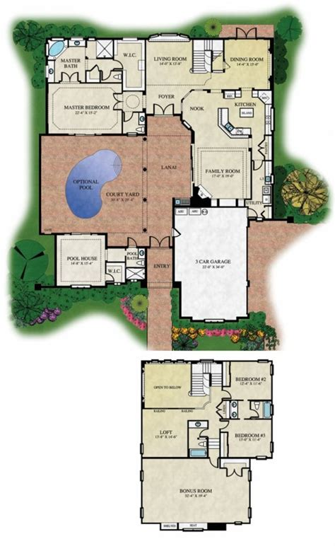 orleans style home plans  home plans design