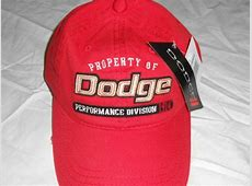 Find Red Dodge Logo Performance Division 1914 Baseball Cap