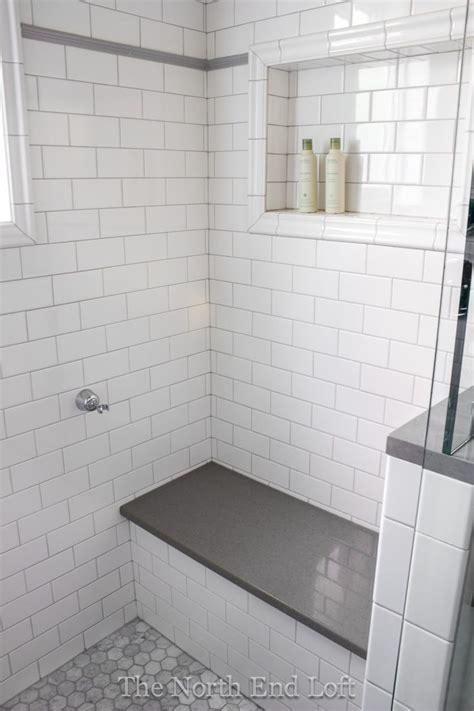 Best 25+ White Subway Tile Shower Ideas On Pinterest
