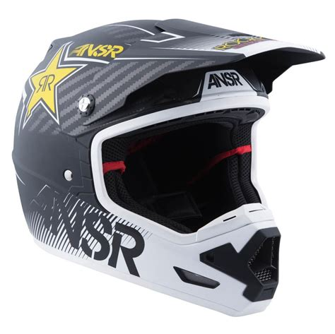 motocross helmets answer racing evolve 3 rockstar mens motocross helmets