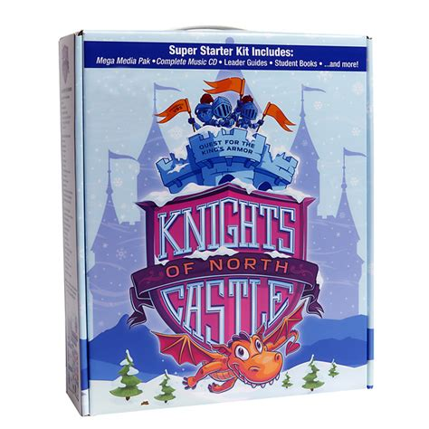 vacation bible school vbs knights north castle super starter