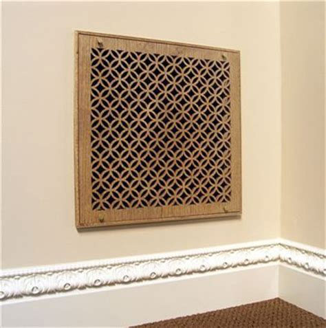 decorative air conditioning return grille painted custom pattern vent cover grille with screen