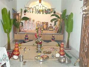 Puja Mandir Decoration Ideas - Home Decorating Ideas