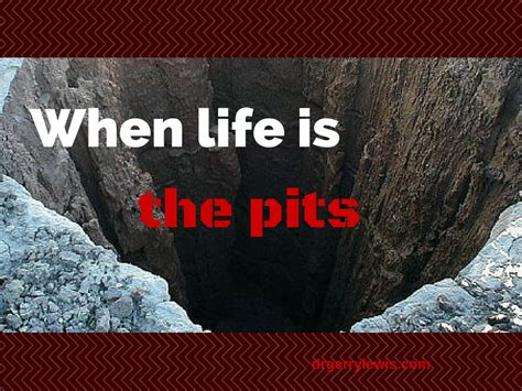 When Life Is The Pits  Dr Gerry Lewis, Guide