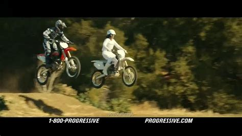 Motorcycle Commercial progressive motorcycle tv commercial flo rides ispot tv