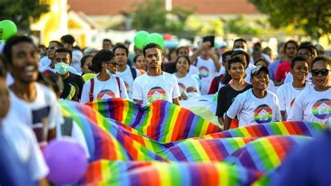 History Made As Timor Leste Holds Its First Pride Parade