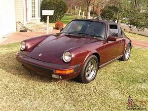 Porsche 911 3 2 : 1984 porsche 911 carrera targa 2 door 3 2l rust free great car ~ Medecine-chirurgie-esthetiques.com Avis de Voitures
