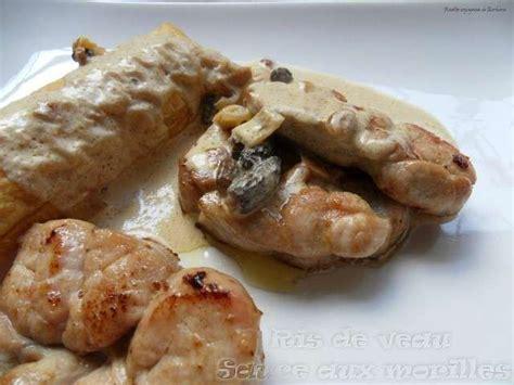 cuisiner les ris de veau les meilleures recettes de morilles