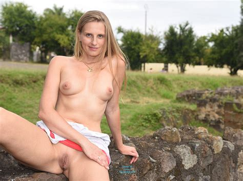 Blonde Showing Pussy Lips In Public March Voyeur Web Hall Of Fame