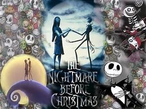Jack and Sally Nightmare Before Christmas Wallpaper ...